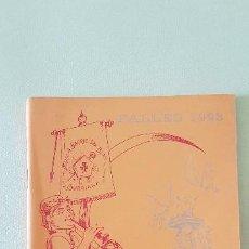 Coleccionismo de Revista Temas Españoles: BURRIANA LLIBRET 1993 FALLA SAN BLAI. Lote 183796621