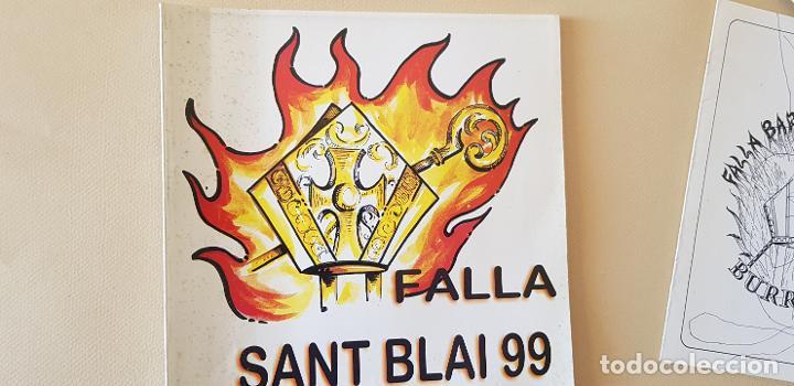 BURRIANA LLIBRET 1999 FALLA SAN BLAI (Papel - Revistas y Periódicos Modernos (a partir de 1.940) - Revista Temas Españoles)