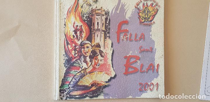 BURRIANA LLIBRET 2001 FALLA SAN BLAI (Papel - Revistas y Periódicos Modernos (a partir de 1.940) - Revista Temas Españoles)