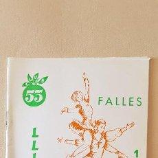Coleccionismo de Revista Temas Españoles: BURRIANA LLIBRET 199O CLUB 53. Lote 183798005