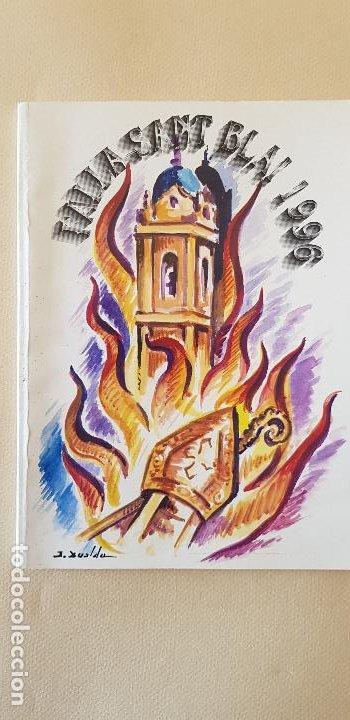 BURRIANA LLIBRET 1996 SANT BLAI (Papel - Revistas y Periódicos Modernos (a partir de 1.940) - Revista Temas Españoles)