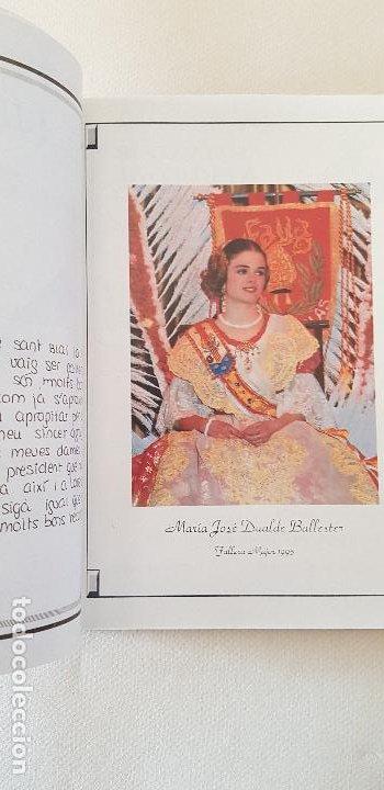 Coleccionismo de Revista Temas Españoles: BURRIANA LLIBRET 1995 SANT BLAI - Foto 2 - 183798698
