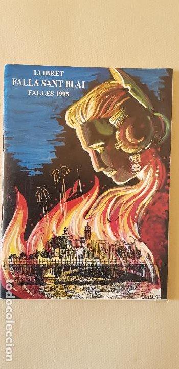 BURRIANA LLIBRET 1995 SANT BLAI (Papel - Revistas y Periódicos Modernos (a partir de 1.940) - Revista Temas Españoles)