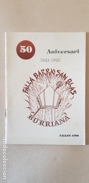 BURRIANA LLIBRET 1990 SANT BLAI (Papel - Revistas y Periódicos Modernos (a partir de 1.940) - Revista Temas Españoles)