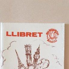 Coleccionismo de Revista Temas Españoles: BURRIANA LLIBRET 1992 SANT BLAI. Lote 183798966