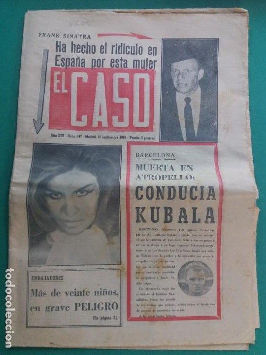 EL CASO-Nº 647-1964 (Papel - Revistas y Periódicos Modernos (a partir de 1.940) - Revista Temas Españoles)