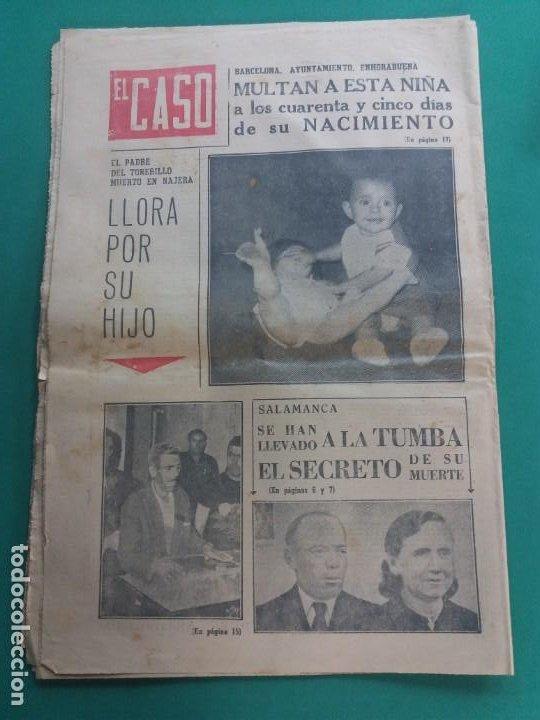 Coleccionismo de Revista Temas Españoles: EL CASO-Nº 647-1964 - Foto 2 - 184185190