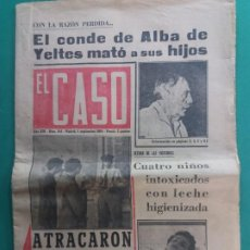 Coleccionismo de Revista Temas Españoles: EL CASO-Nº 644-1964. Lote 184185257