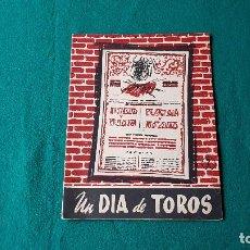 Coleccionismo de Revista Temas Españoles: REVISTA TEMAS ESPAÑOLES Nº 229 UN DIA DE TOROS (1956). Lote 184370725