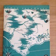 Coleccionismo de Revista Temas Españoles: TEMAS ESPAÑOLES N24 FRENTES DEL SUR. Lote 184444487
