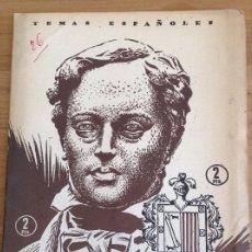 Coleccionismo de Revista Temas Españoles: TEMAS ESPAÑOLES N 26 DONOSO CORTES. Lote 184444713