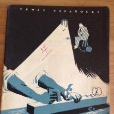 Coleccionismo de Revista Temas Españoles: TEMAS ESPAÑOLES N 27 REGENERACIÓN DEL PRESO. Lote 184445070