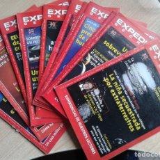 Coleccionismo de Revista Temas Españoles: EXPEDIENTES SECRETOS ISSUES 1-12 / TELE INDISCRETA UFO OVNI DEL OSO J.J. BENITEZ. Lote 187121137