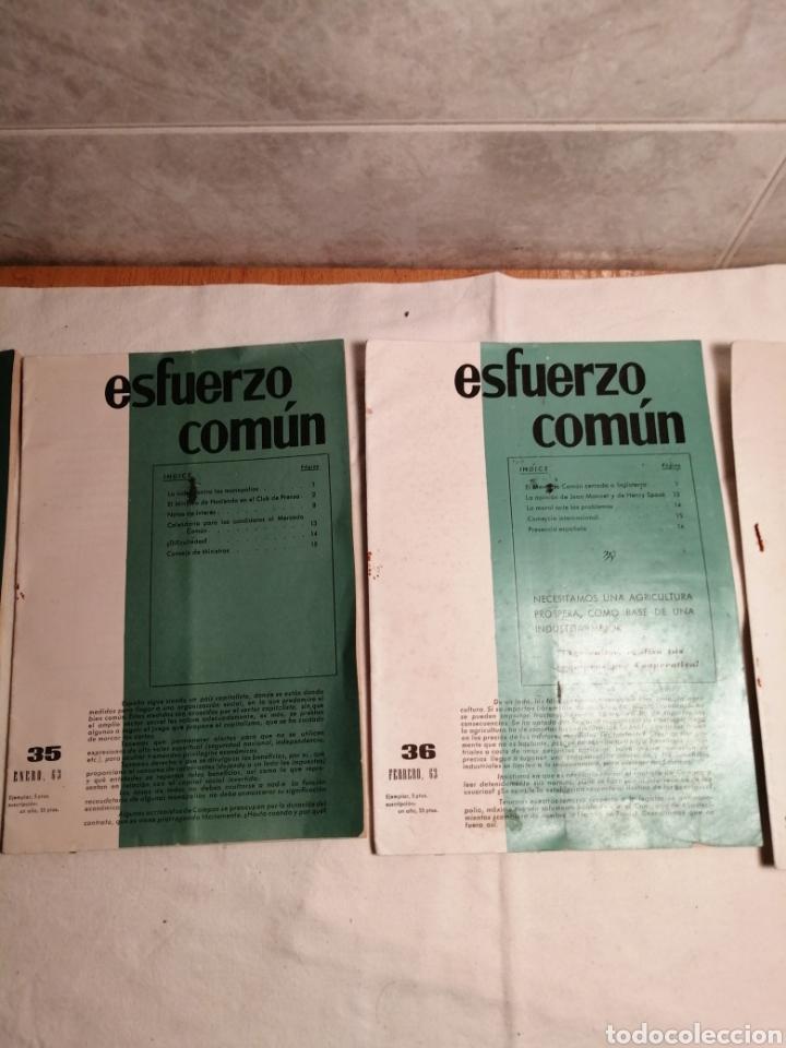 Coleccionismo de Revista Temas Españoles: 10 Revistas Carlista esfuerzo comun - Foto 2 - 187545250