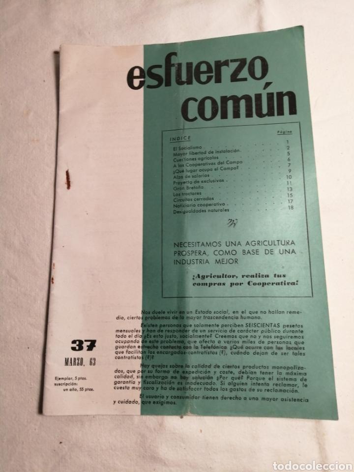 Coleccionismo de Revista Temas Españoles: 10 Revistas Carlista esfuerzo comun - Foto 3 - 187545250