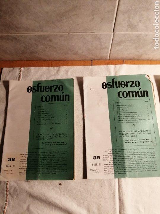 Coleccionismo de Revista Temas Españoles: 10 Revistas Carlista esfuerzo comun - Foto 4 - 187545250