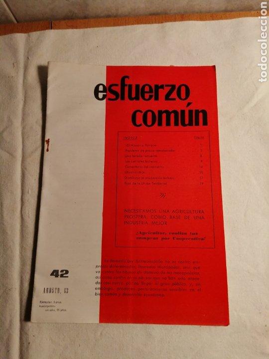 Coleccionismo de Revista Temas Españoles: 10 Revistas Carlista esfuerzo comun - Foto 6 - 187545250