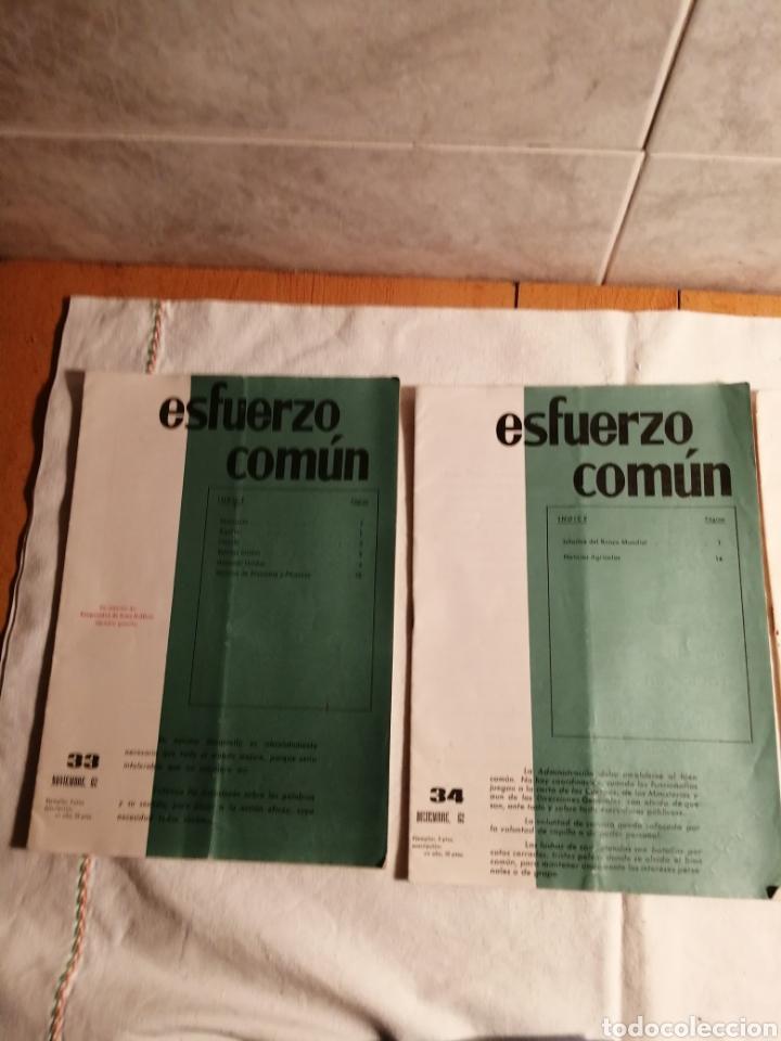 10 REVISTAS CARLISTA ESFUERZO COMUN (Papel - Revistas y Periódicos Modernos (a partir de 1.940) - Revista Temas Españoles)