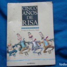 Coleccionismo de Revista Temas Españoles: CINCO AÑOS DE RISA - LO MEJOR DE RICARDO Y NACHO EDITADO POR EL MUNDO - COMPLETA. Lote 188474702
