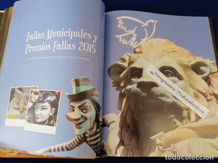 Coleccionismo de Revista Temas Españoles: VIVIR LAS FALLAS 2015.- LIBRO FALLERO JUNTA CENTRAL FALLERA VALENCIA - Foto 6 - 190336342