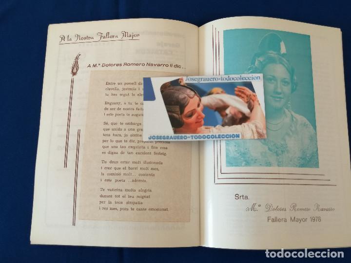 Coleccionismo de Revista Temas Españoles: LLIBRET FALLA PADRE SANTONJA - CARDENAL BENLLOCH (V ANIVERSARIO) - Foto 4 - 190343278