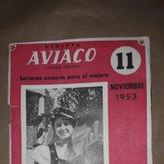 Coleccionismo de Revista Temas Españoles: REVISTA AVIACO 11 1953. Lote 190852967