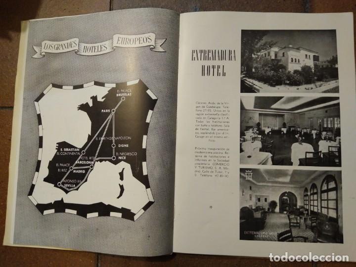 Coleccionismo de Revista Temas Españoles: Revista España dedicada a Extremadura. N° 36 publicidad, imágenes, hoteles, etc - Foto 4 - 191632816
