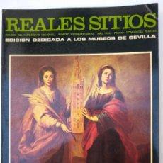 Coleccionismo de Revista Temas Españoles: REALES SITIOS. NÚMERO EXTRAORDINARIO. AÑO 1976. MUSEOS DE SEVILLA. Lote 192897821