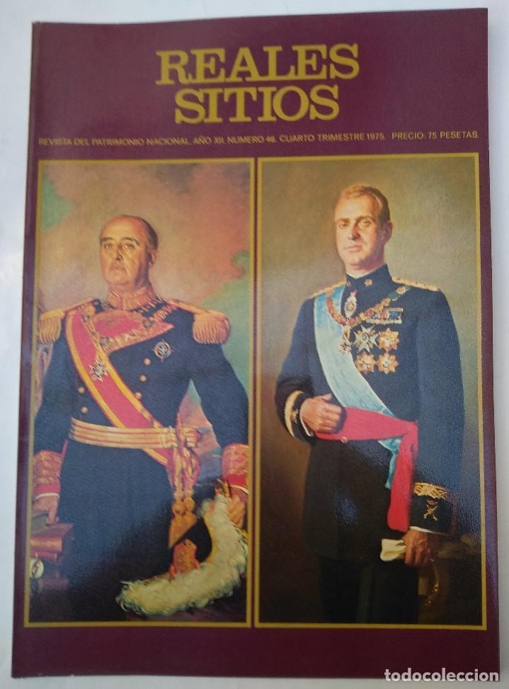 REALES SITIOS. Nº 46. AÑO 1975 (Papel - Revistas y Periódicos Modernos (a partir de 1.940) - Revista Temas Españoles)