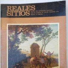 Coleccionismo de Revista Temas Españoles: REALES SITIOS. Nº 45. AÑO 1975. Lote 192898631