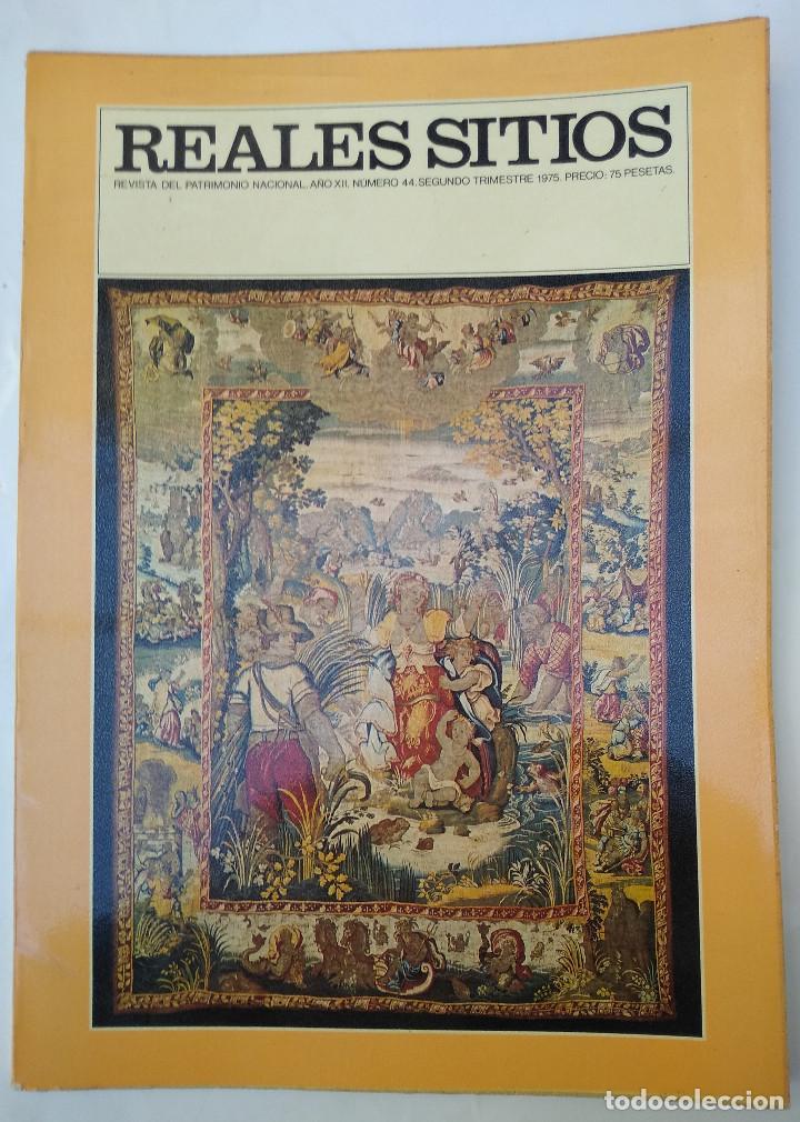 REALES SITIOS. Nº 44. AÑO 1975 (Papel - Revistas y Periódicos Modernos (a partir de 1.940) - Revista Temas Españoles)