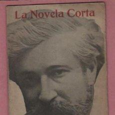 Coleccionismo de Revista Temas Españoles: COLE LA NOVELA CORTA - Nº EXTRAORDINARIO - EL PUEBLO GRIS D SANTIAGO RUSIÑOL. Lote 193220082
