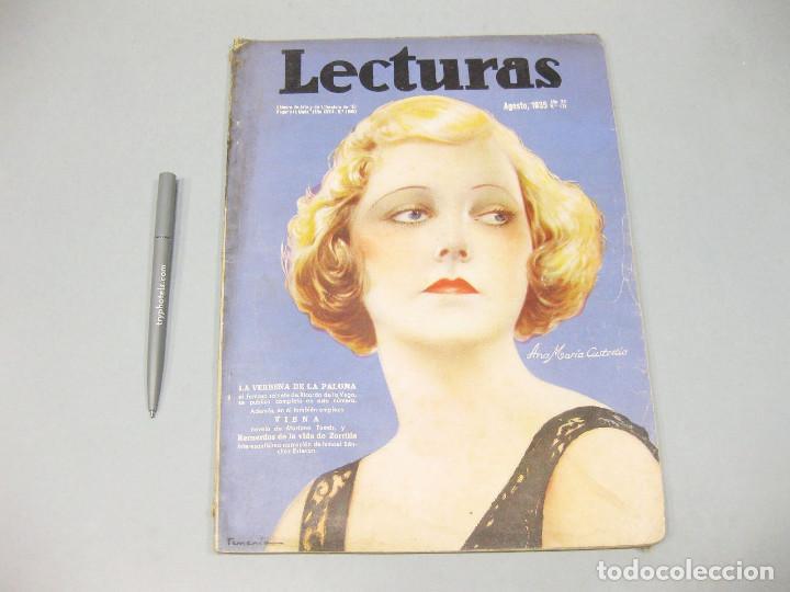 REVISTA LECTURAS. Nº 171, AGOSTO 1935. (Papel - Revistas y Periódicos Modernos (a partir de 1.940) - Revista Temas Españoles)