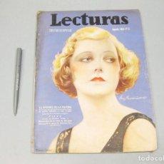 Coleccionismo de Revista Temas Españoles: REVISTA LECTURAS. Nº 171, AGOSTO 1935.. Lote 194148255