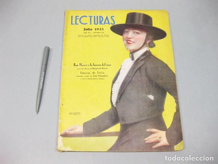 REVISTA LECTURAS. Nº 170, JULIO 1935. (Papel - Revistas y Periódicos Modernos (a partir de 1.940) - Revista Temas Españoles)