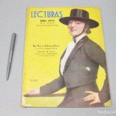 Coleccionismo de Revista Temas Españoles: REVISTA LECTURAS. Nº 170, JULIO 1935.. Lote 194148643
