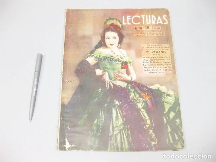 REVISTA LECTURAS. Nº 169, JUNIO 1935. (Papel - Revistas y Periódicos Modernos (a partir de 1.940) - Revista Temas Españoles)