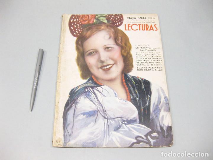 REVISTA LECTURAS. Nº 168, MAYO 1935. (Papel - Revistas y Periódicos Modernos (a partir de 1.940) - Revista Temas Españoles)