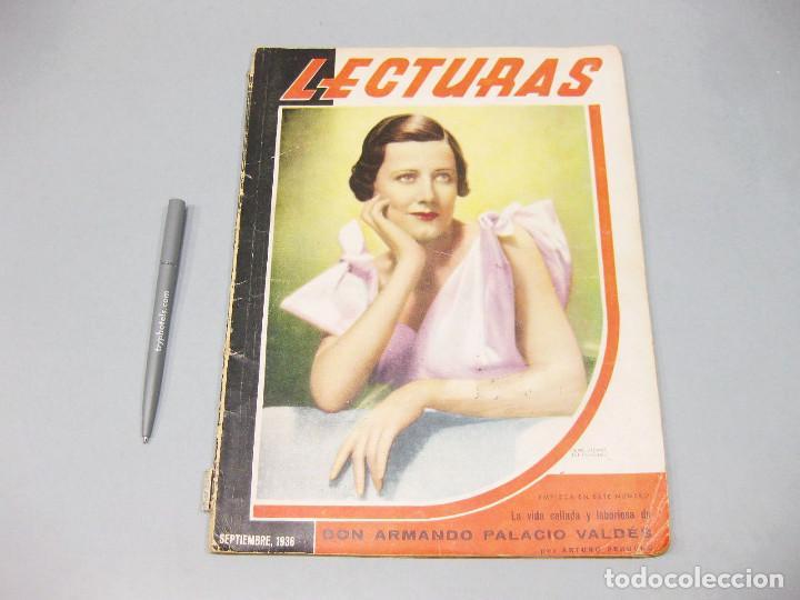 REVISTA LECTURAS. Nº 184, SEPTIEMBRE 1936. (Papel - Revistas y Periódicos Modernos (a partir de 1.940) - Revista Temas Españoles)