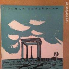 Coleccionismo de Revista Temas Españoles: TEMAS ESPAÑOLES. AVILA. 1956. Lote 194308092