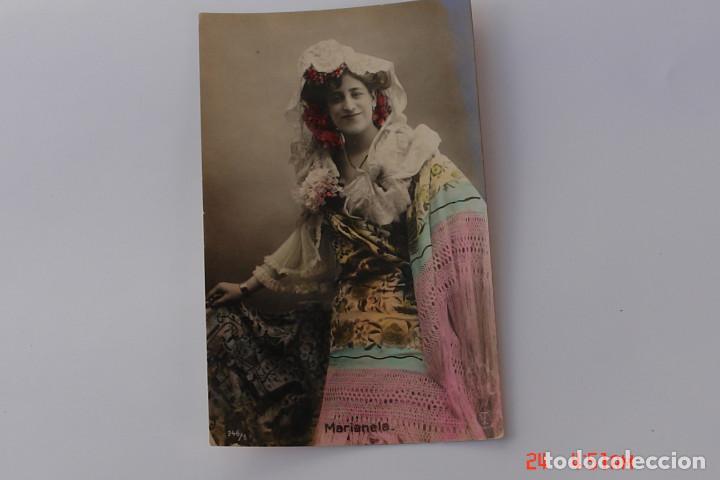 POSTAL CUPLETISTA -MARIANELA-BAILARINA, CANTANTE (Papel - Revistas y Periódicos Modernos (a partir de 1.940) - Revista Temas Españoles)