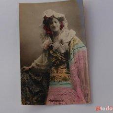 Coleccionismo de Revista Temas Españoles: POSTAL CUPLETISTA -MARIANELA-BAILARINA, CANTANTE. Lote 195128753