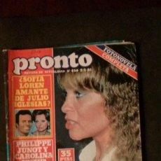 Coleccionismo de Revista Temas Españoles: MARISOL-ROCIO JURADO-CAROLINA-JULIO IGLESIAS-JOHN LENNON-MIGUEL BOSE-ANA OBREGON-JUANITA REINA . Lote 195900026