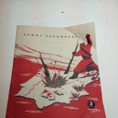 Collectionnisme de Magazine Temas Españoles: REVISTA TEMAS ESPAÑOLES. Nº 50. LUCHAS EN LA ZONA ROJA. PUBLICACIONES ESPAÑOLAS. MADRID. 1959.. Lote 196926605