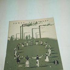 Coleccionismo de Revista Temas Españoles: REVISTA TEMAS ESPAÑOLES. Nº 52. CATALUÑA. PUBLICACIONES ESPAÑOLAS. MADRID. 1953.. Lote 196926905
