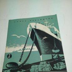 Coleccionismo de Revista Temas Españoles: REVISTA TEMAS ESPAÑOLES. Nº 53. LA MARINA MERCANTE. PUBLICACIONES ESPAÑOLAS. MADRID. 1953.. Lote 196926995