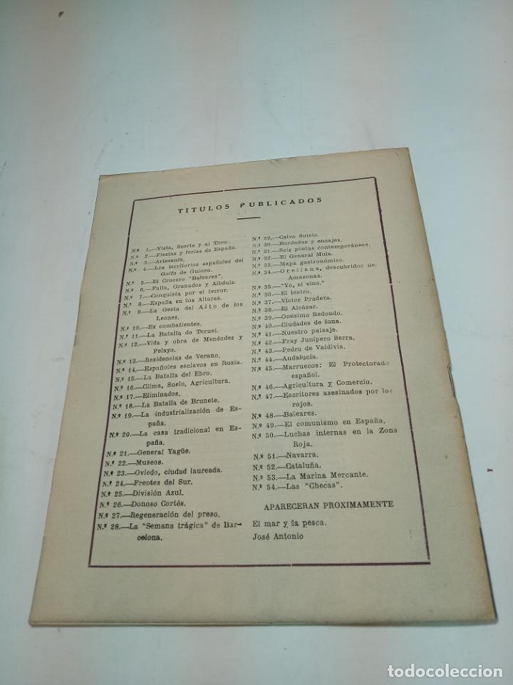 Coleccionismo de Revista Temas Españoles: Revista temas Españoles. Nº 54. Las Checas. Publicaciones Españolas. Madrid. 1953. - Foto 3 - 196927120