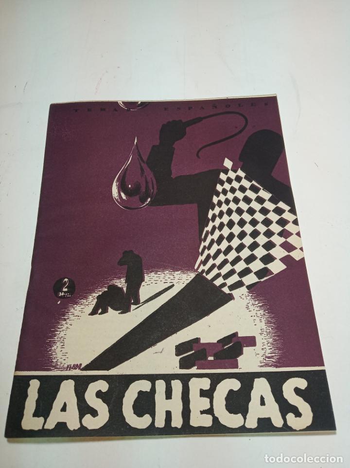 REVISTA TEMAS ESPAÑOLES. Nº 54. LAS CHECAS. PUBLICACIONES ESPAÑOLAS. MADRID. 1953. (Papel - Revistas y Periódicos Modernos (a partir de 1.940) - Revista Temas Españoles)