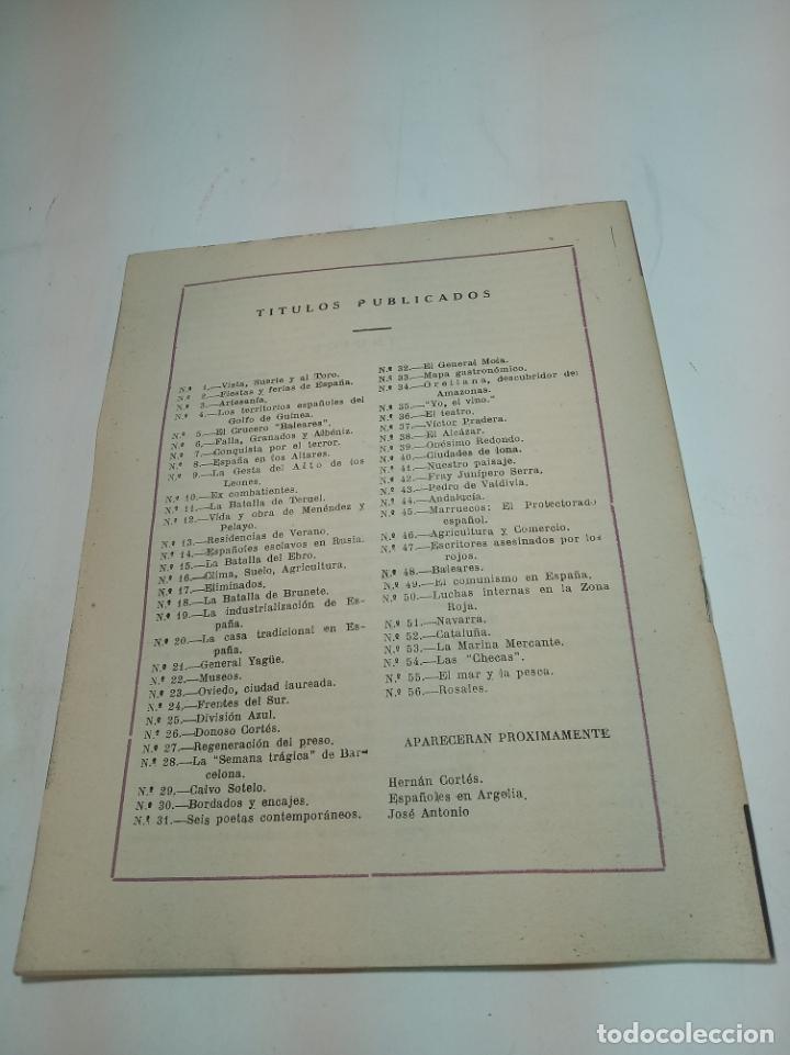 Coleccionismo de Revista Temas Españoles: Revista temas Españoles. Nº 56. Rosales. Publicaciones Españolas. Madrid. 1953. - Foto 3 - 196927271