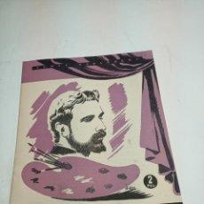 Coleccionismo de Revista Temas Españoles: REVISTA TEMAS ESPAÑOLES. Nº 56. ROSALES. PUBLICACIONES ESPAÑOLAS. MADRID. 1953.. Lote 196927271